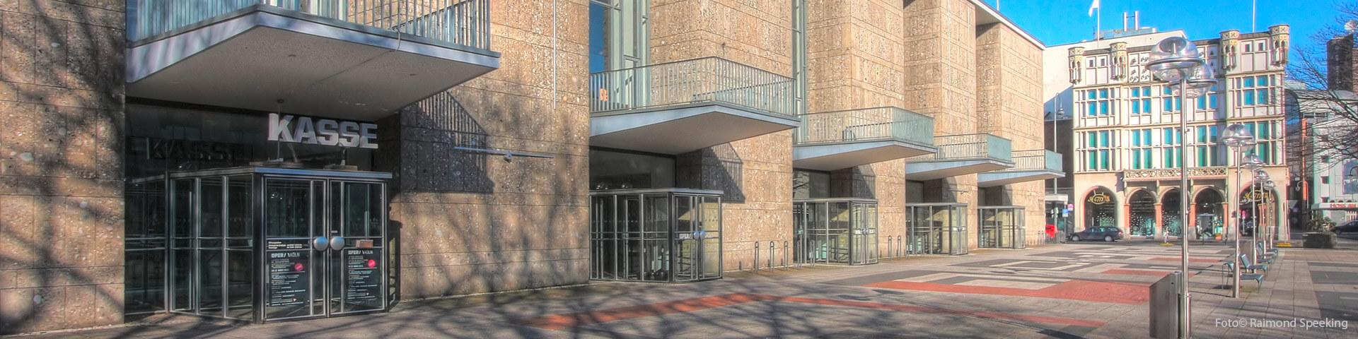 Foto: Oper Köln - Eingangsbereich. Architekt: Wilhelm Riphahn