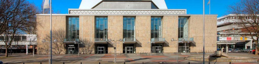 Das Kölner Opernhaus am Offenbachplatz